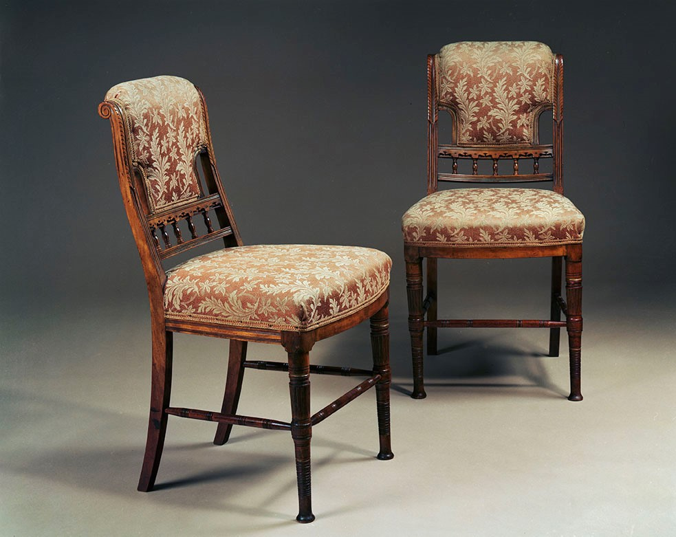 1680 pair of drawing room chairs